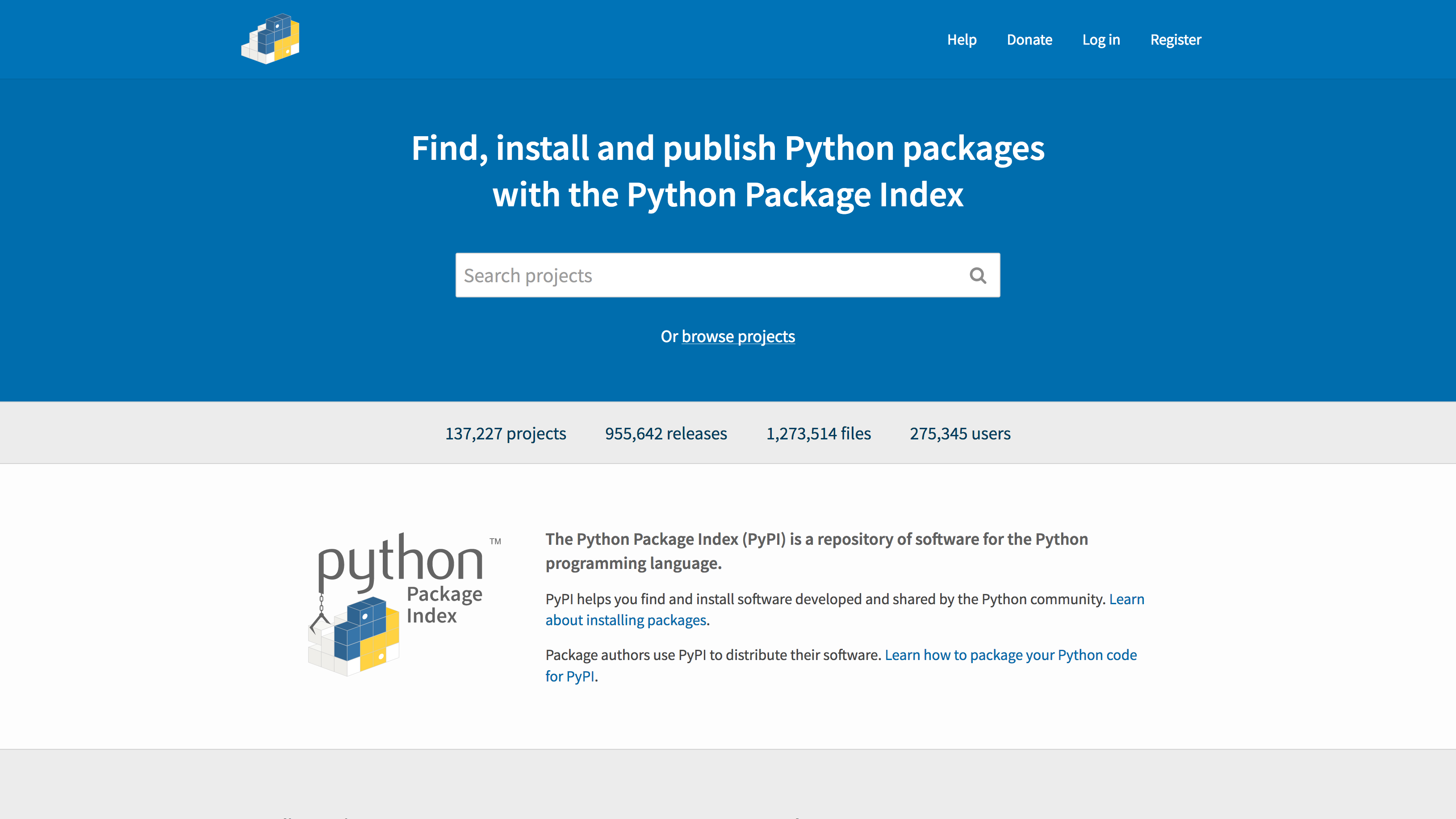 PyPI - the Python Package Index